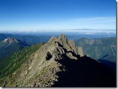 3-08ジャンダルムへの登山道