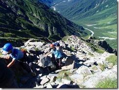 3-21紀美子平から前穂高岳の往復です