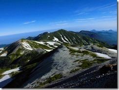3-06雪倉岳へ向かいます