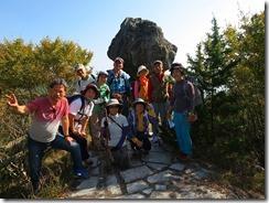 14松茸岩にて記念写真IMG_1807