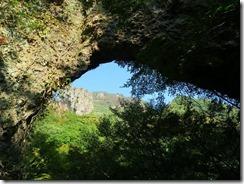 17第4景、石門を通して幟岳IMG_1820