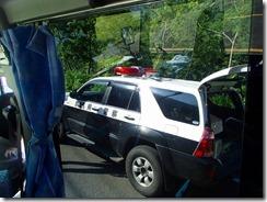 03警察車も出動