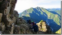 3-09気を抜けない登山道が続きます