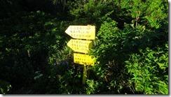 4-02扇沢までの標識