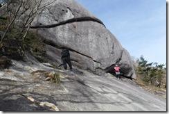 15象岩のトラバース
