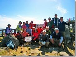 32 背振山登頂写真