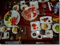 11とても豪華な食事