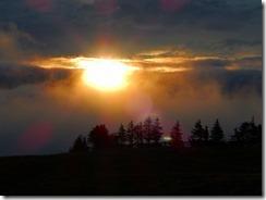 08雲からご来迎見えました