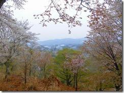 07 遠く雲海の中に浮かぶ山里の風景も風情がある