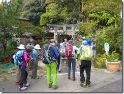 01土器山への登山口