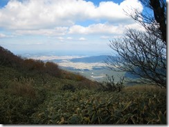 16 944mの稜線歩き