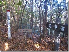 03井原山への遊歩道案内版