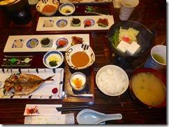 1-30天草宿、朝食