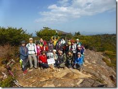 2-23今日の2座目、白嶽にて登頂写真