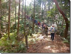 2-26キャンプ場を過ぎて蕗岳を目指します