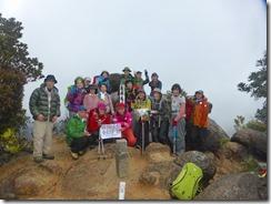 1-16今回の1座目、次郎丸岳登頂写真