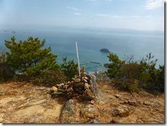 2-27蕗岳に到着、ここも観海アルプス