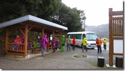 1-01次郎太郎の今泉駐車場到着、地域の皆様が作ってくれた施設に感謝です