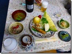 1-10麦草ヒュッテの夕食